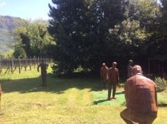 statue arrugginite