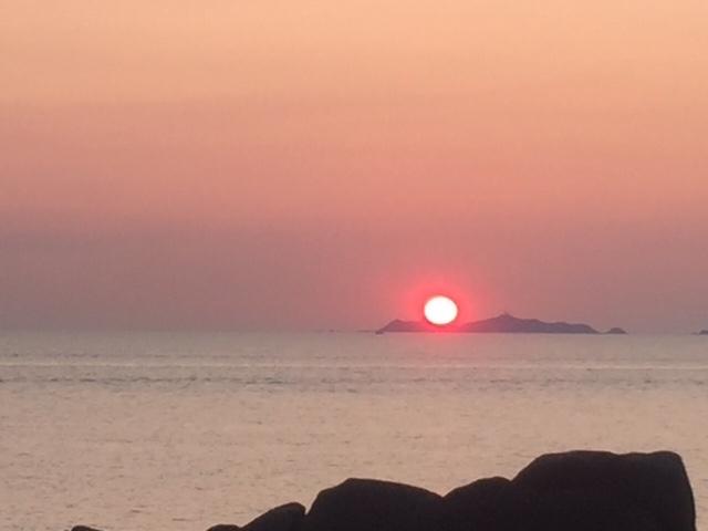 tramonto Corsica2