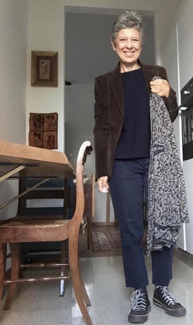 Anna da Re sciarpa