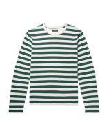JOSEPH Tshirt Verde jersey maniche lunghe collo tondo a righe 12351996SQ